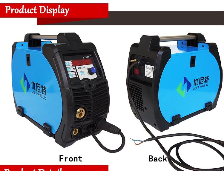 Portable Aluminum Welding : Unitweld portable pulse mig aluminum welding machine buy