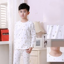 Factory Direct Baby Boy Girl Autumn Clothes Boutique Clothing Sets Kids Long Johns Thermal Underwear