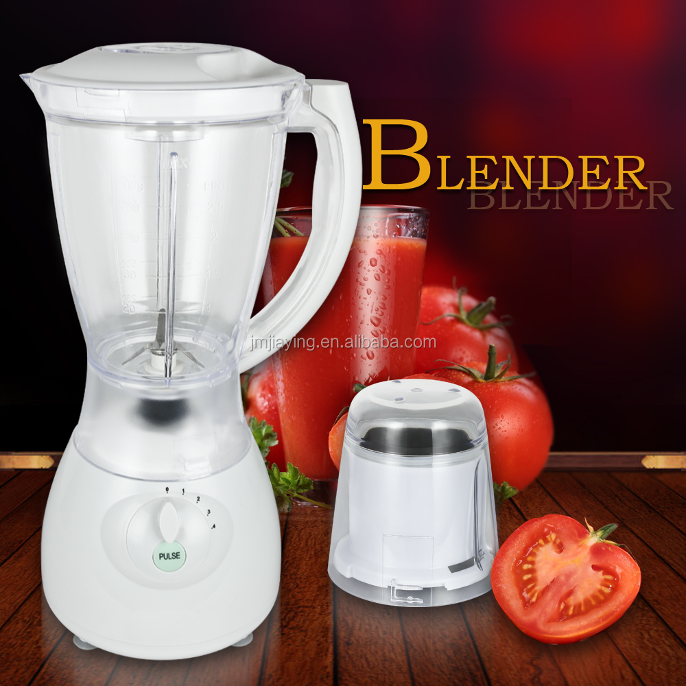 Hot Sell Good Quality 1.5L Plastic Or Glass Jar Electric Blender