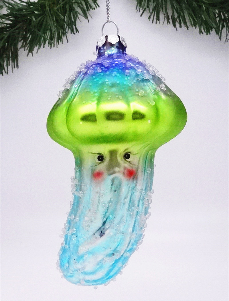 Fish christmas ornaments - Tropical Art Hand Blown Glass Fish Christmas Ornaments Wholesales From Direct Factory In China