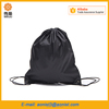 Cheap promotion fabric linen satin drawstring bag Backpack