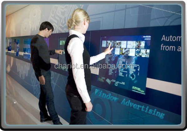 ChariotTech Super slim USB IR multi touch panel overlay