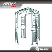 Good reputation hot sale metal garden arch for plants climbing