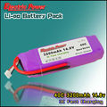 3200mAh 14.8V 40C RC LIPO Battery Packs