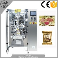 Automatic filling and sealing packaging machine for peanuts