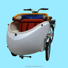 250 watt electric cargo motor tricycle with pedals