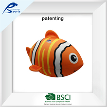 factory patent 24 inch Neoprene clownfish football toy inflatable fish ball