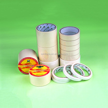 Free sample competitive price jumbo and slit rolls 130 degree resistance Ruber Masking Tape White Masking tape SGS OEM factory