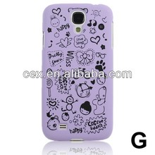 For Samsung Galaxy S4 i9500 Magic Girl Cute lovely Little Witch Hard PC Plastic Series Case