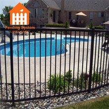 wire mesh portable swimming pool used wrought iron fence panels removable