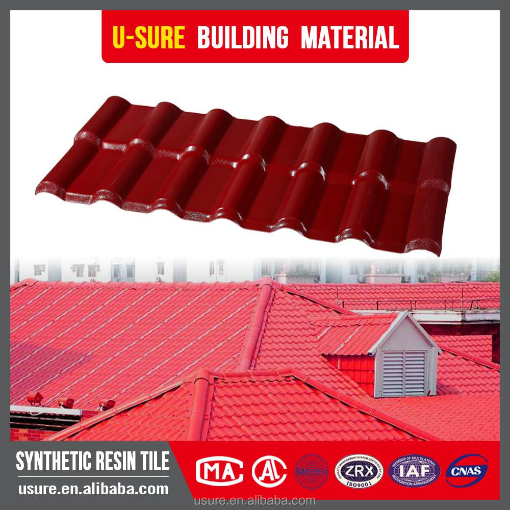 Roof heat insulation materials Building materials beautiful appearance french roof tile