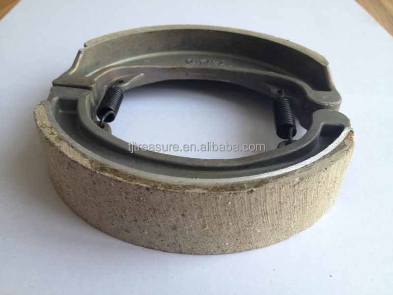 brake liner price/press brake die block/motorcycle brake shoe
