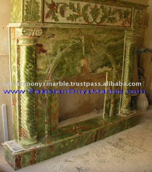 Onyx Fireplace and Mantles
