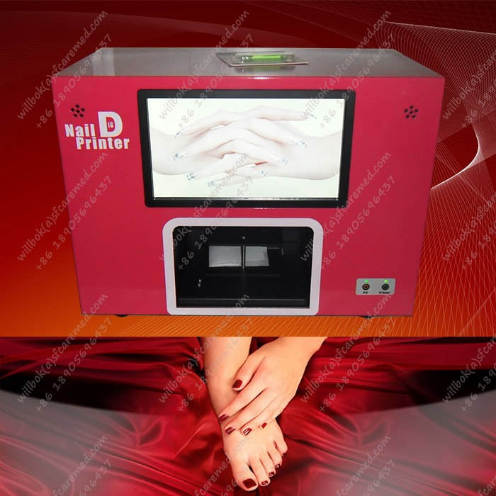 Lady EUR Digital nail color machine with computer