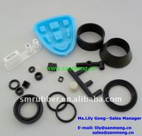 custom molded rubber components