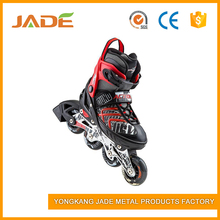 Professional four PVc wheel kick roller shoes inline speed skates for sale