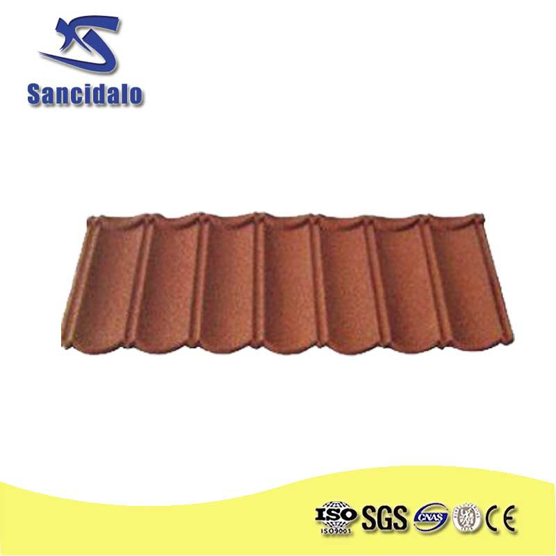 best sales stone chips coated steel tile /shandong building material /metal roofing price asphalt shingles