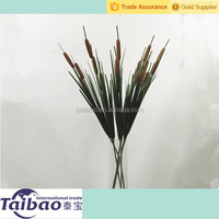 Home decoration fake artificial cattail wholesale