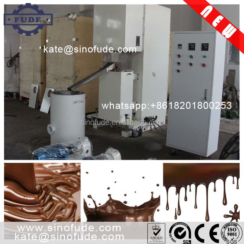 CMT Automatic Chocolate Ball Mill Machine/ chocolate conche machine / chocolate bar making machine