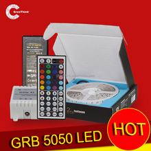 Deft design 12V RGB 5050 60leds IP68 Digital Addressable Remote rgb led controller wifi