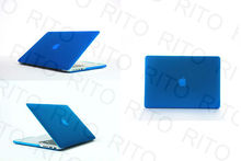 "Wholesale Matte Rubberized Hard Case Cover For Macbook Pro 15"" 15.4"" Retina Screen Display,11 Colors,Customers logo"