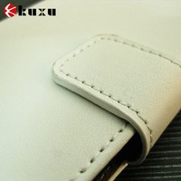 2015 two layer genuine leather phone bag/case for LG