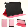 Factory wholesale slim-fit folio cover for ipad mini leather case