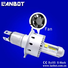 ALL IN ONE WIRELESS LED AUTO HEADLIGHT 7S 7P 45W 6000LM COB H4 WITH FANLESS DESIGN