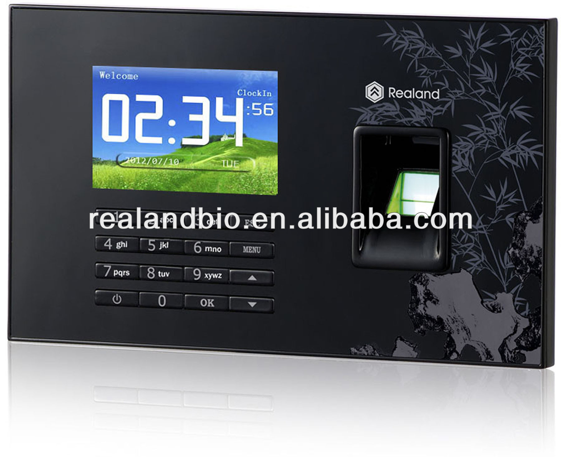 REALAND Standalone Biometric Fingerprint & RFID Card Time Attendance A-C051