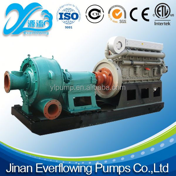 High Power resistant vertical chemical slurry pump