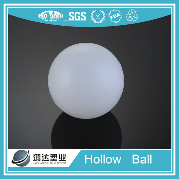 4 inch large plastic hollow floating ball from Shaoxing