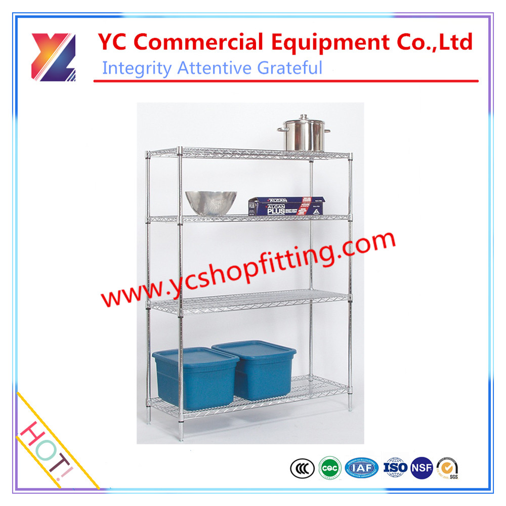 YC-W116 New design metal wire storage shelf, storage rack