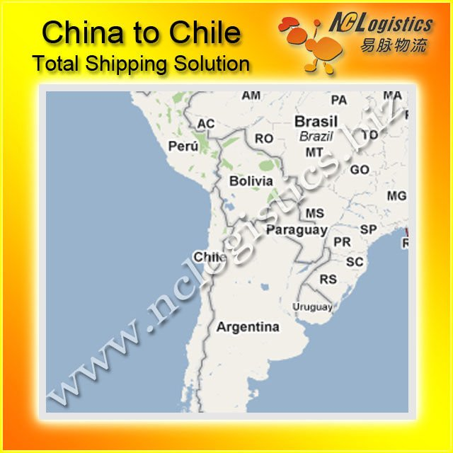 International logistics service from China to Chile