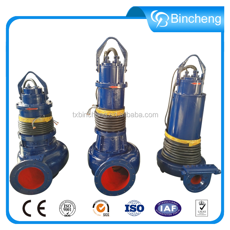 40hp electric stream submersible sump sewage centrifugal pump