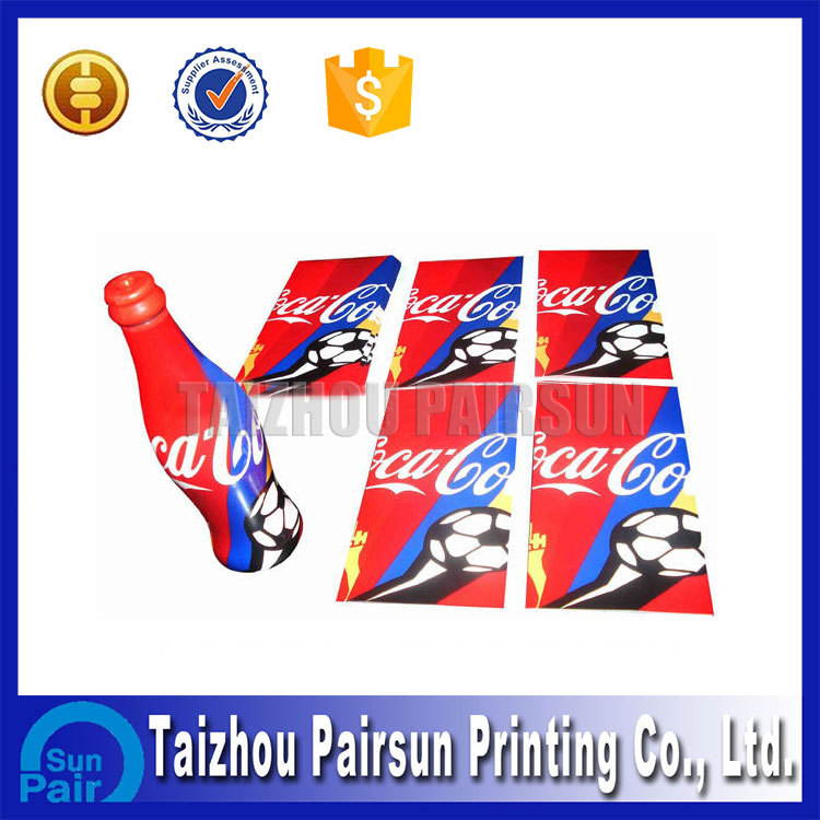 beverage pvc shrink label printing and desgin