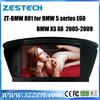 ZESTECH 8.8 inch HOT SPECIAL touch screen Car dvd player for BMW 5 series X6 E60 X5 (2005-2009) video interface with gps