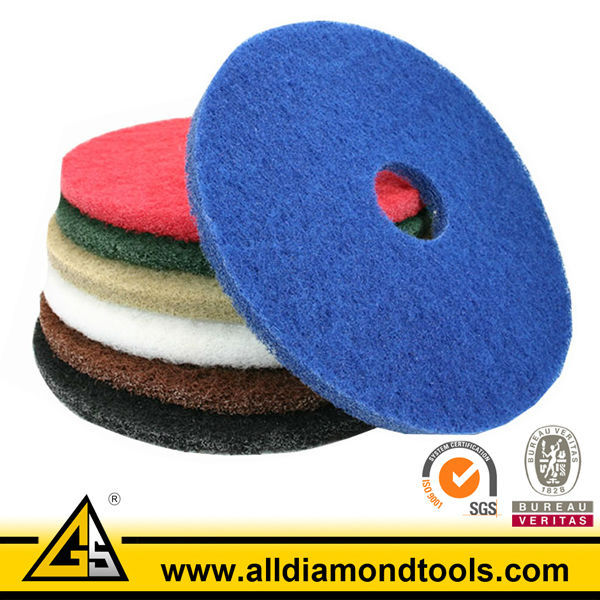 Abrasive Scrubbing Floor Cleaning Pads