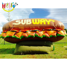 inflatable hamburger, inflatable advertising replica burger