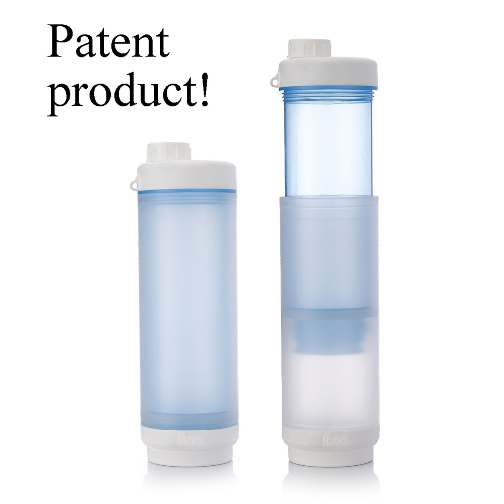 Patent best bpa free PP personalised drinking water bottles