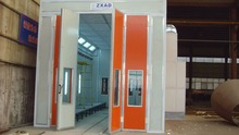 Car spray paint booth with top quality ventilation system with CE approved