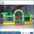 Huale inflatable castle with pvc tarpaulin, inflatable jumping castle with plato pvc tarpaulin, Animal forest model inflatable