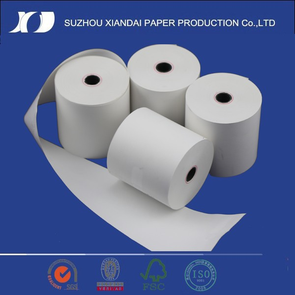 80mm pre-printed thermal paper till rolls