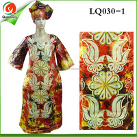LQ030 beaded brocade dubai clothes for african unique fashion design for party dress