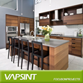 Foshan fatory wooden plywood kitchen cabinets