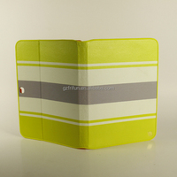 Bright colorful pu leather case for samsung galaxy tab 10 inch