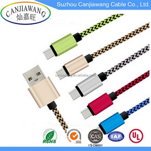 2017 Hot Sale Quick Charging USB 3.1 Type C Cable Usb Data Cable
