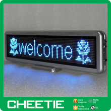 LED Wireless Scrolling Text Running Message Display Advertising Board