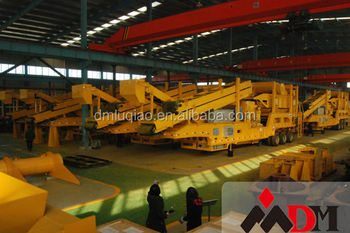 Mobile crusher for sale certified by CE ISO GOST CE etc