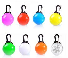 Colorful Pet Dog Flash LED Light Tag Pendant Safety Flashing Blinker Collar Clip On Collar Cat Night Light Buckle for Dog Cat