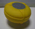 Promotional gift Mini wireless waterproof Ip6 Suction speaker waterproof Ip6